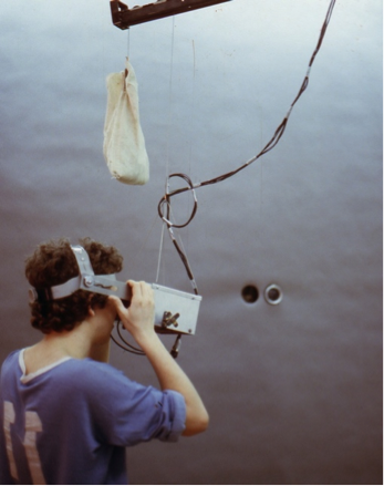 Displaced Perspective DATE - 1983 DISCIPLINE - Art MEDIUM – Telepresence video installation STATUS – Displayed at the Ontario College of Art