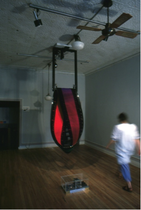 Mobius DATE - 1983 DISCIPLINE - Art MEDIUM – Interactive kinetic sculpture STATUS – Displayed at the Artculture Resource Centre