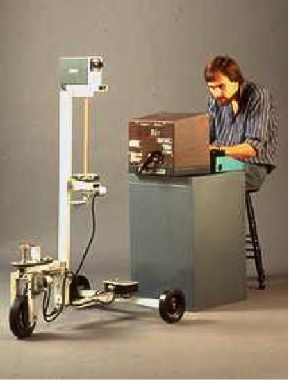 Displaced Perspectives DATE - 1986 DISCIPLINE - Art MEDIUM – Telepresence robotic installation STATUS – Displayed simultaneously in Toronto, Canada and Salerno, Italy