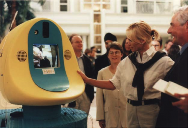 DATE - 1997 DISCIPLINE - Design MEDIUM – Telepresence robotics STATUS-50 deployed