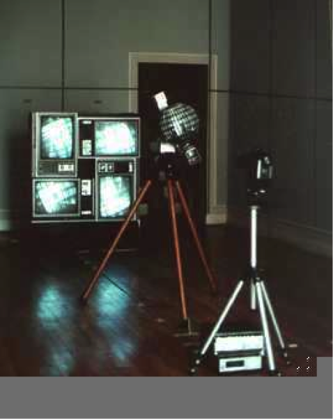 Orientation DATE - 1982 DISCIPLINE - Art MEDIUM – Kinetic Sculpture and video installation